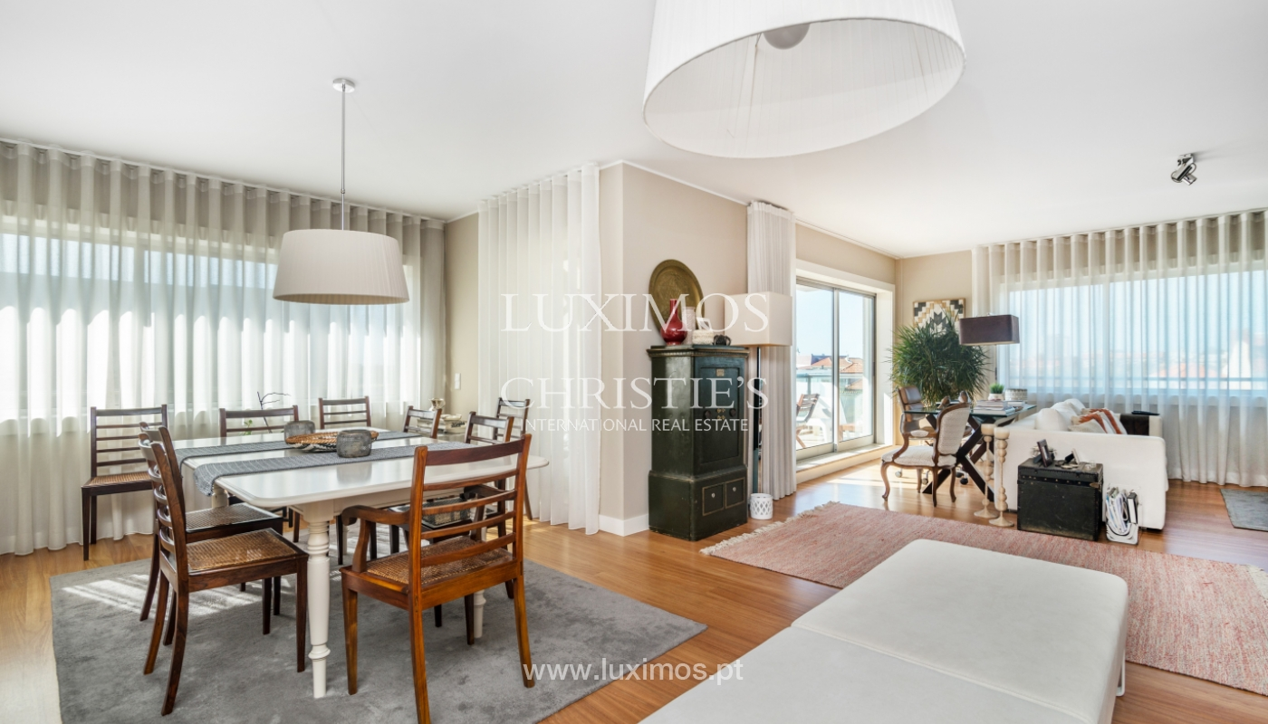 Luxury apartment for sale, with sea and river views, Porto, Portugal_122683