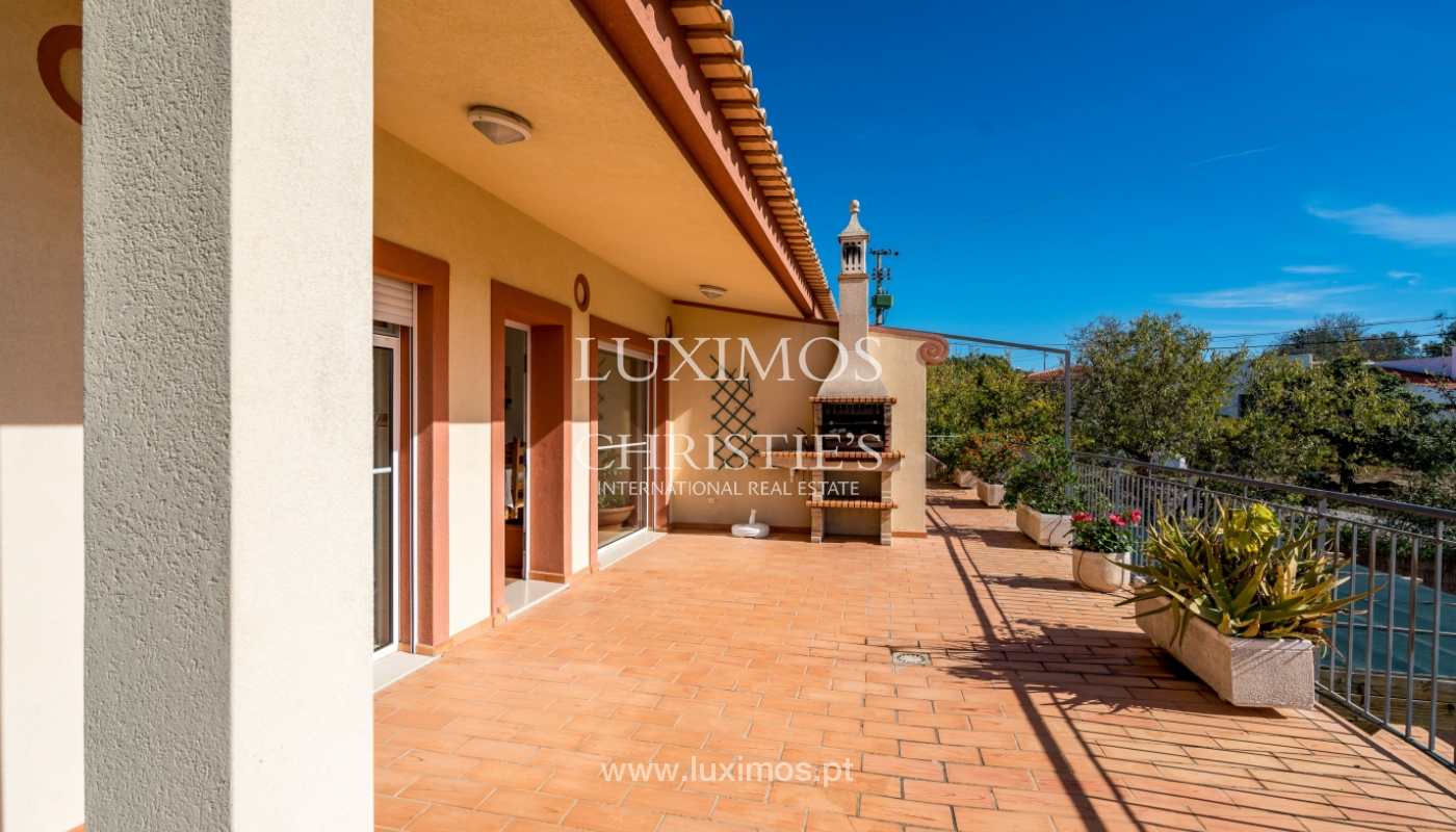 Sale of property with swimming pool in Estoi, Faro, Algarve, Portugal_123229