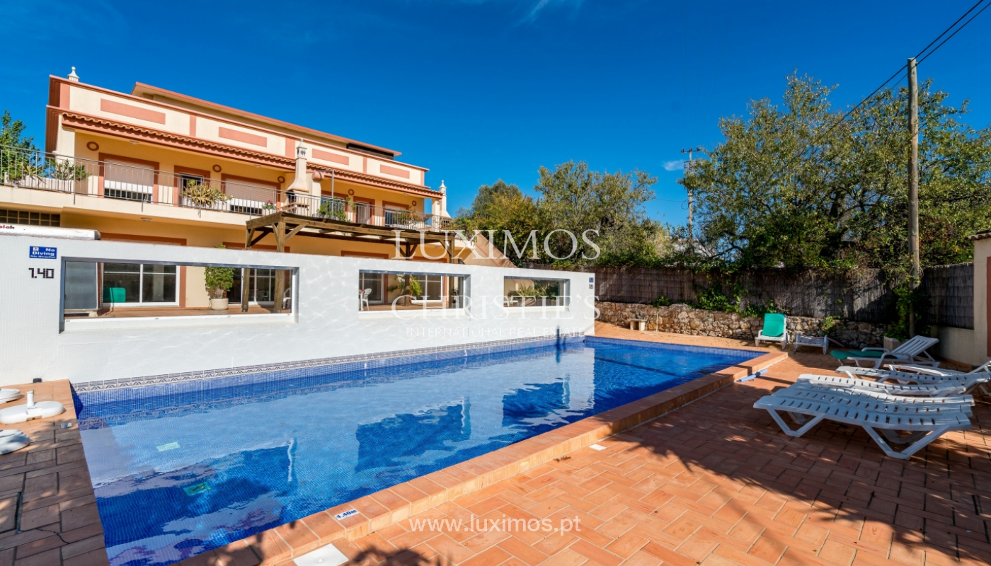 Sale of property with swimming pool in Estoi, Faro, Algarve, Portugal_123260