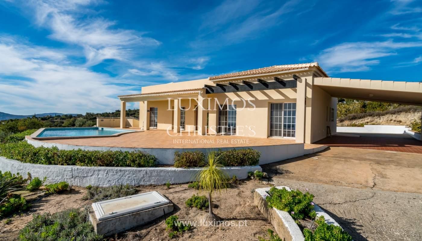 Sale of villa with sea view in Estoi, Faro, Algarve, Portugal_123288