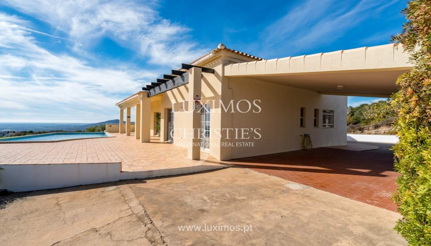 Sale of villa with sea view in Estoi, Faro, Algarve, Portugal_123289