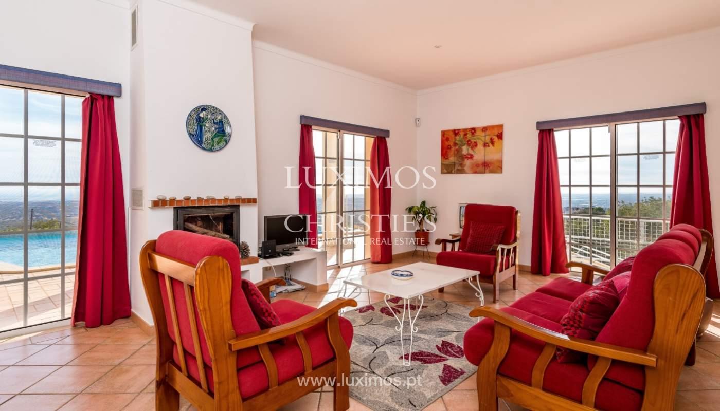 Sale of villa with sea view in Estoi, Faro, Algarve, Portugal_123292