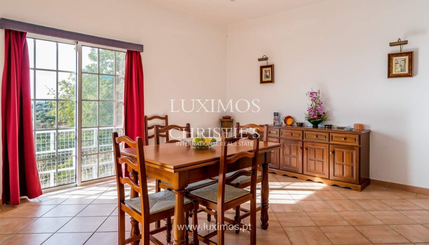 Sale of villa with sea view in Estoi, Faro, Algarve, Portugal_123293