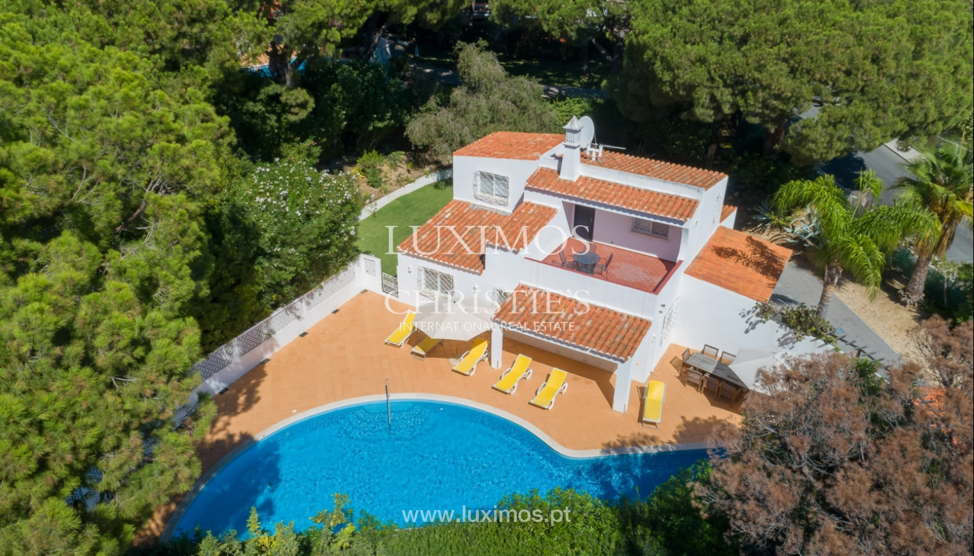 Villa à vendre près du golf en Vale do Lobo, Algarve, Portugal_123636