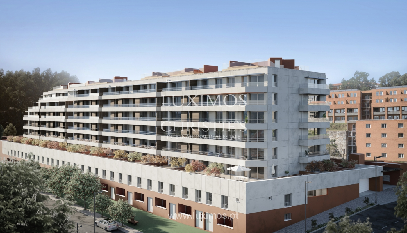NEW 3-BEDROOM APARTMENT, TERRACE WITH GREEN AREAS, PORTO, PORTUGAL_124063
