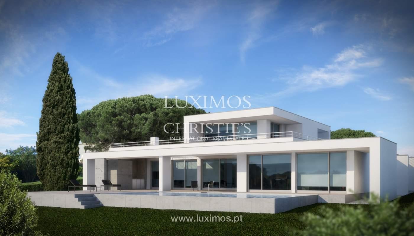 Sale of modern villa with sea view in Lagos, Algarve, Portugal_124077