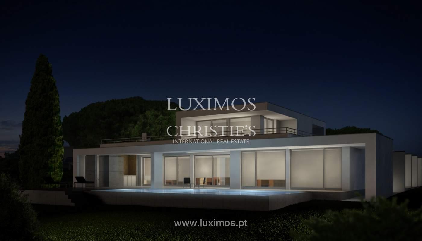 Sale of modern villa with sea view in Lagos, Algarve, Portugal_124080