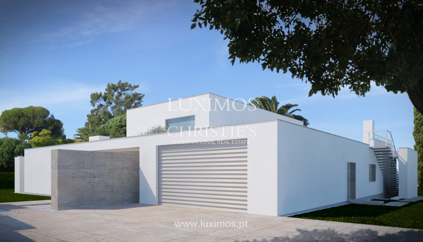 Sale of modern villa with sea view in Lagos, Algarve, Portugal_124095