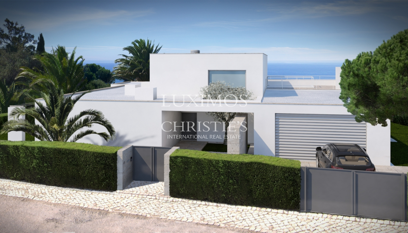 Sale of modern villa with sea view in Lagos, Algarve, Portugal_124098
