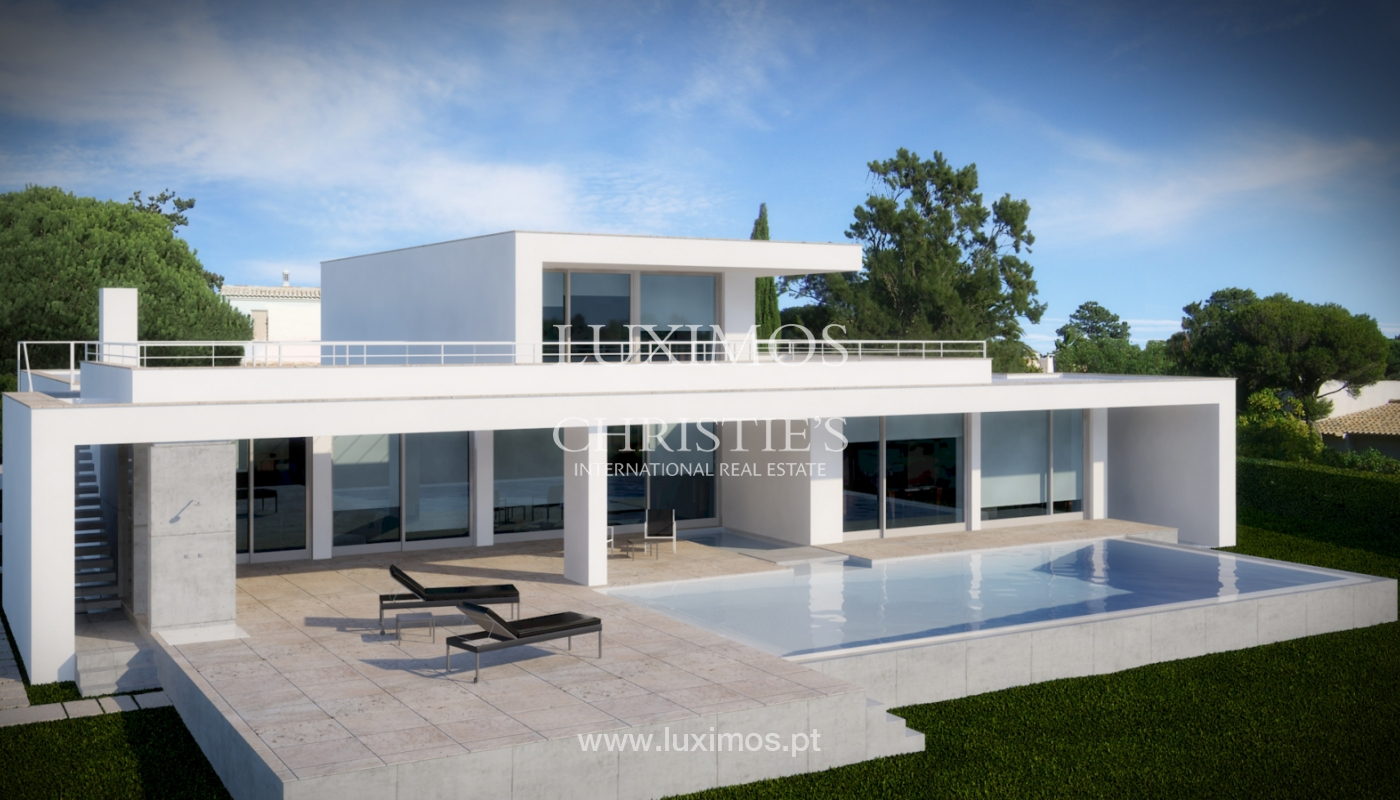 Sale of modern villa with sea view in Lagos, Algarve, Portugal_124099