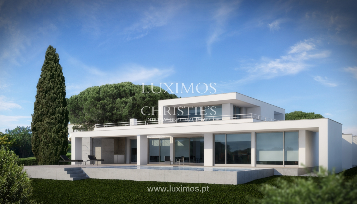 Sale of modern villa with sea view in Lagos, Algarve, Portugal_124101