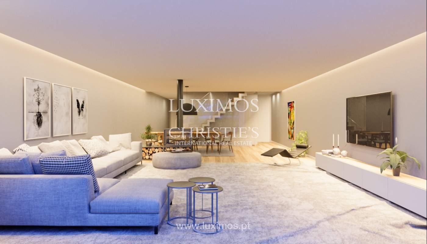 Verkauf Luxusvilla mit Garten, in exklusiver Entwicklung, Foz, Portugal_124964