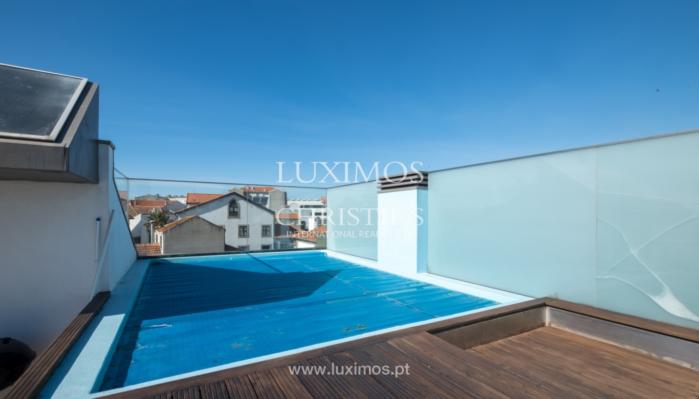Sale villa with pool, terrace and river views, Leça Palmeira, Portugal_125052