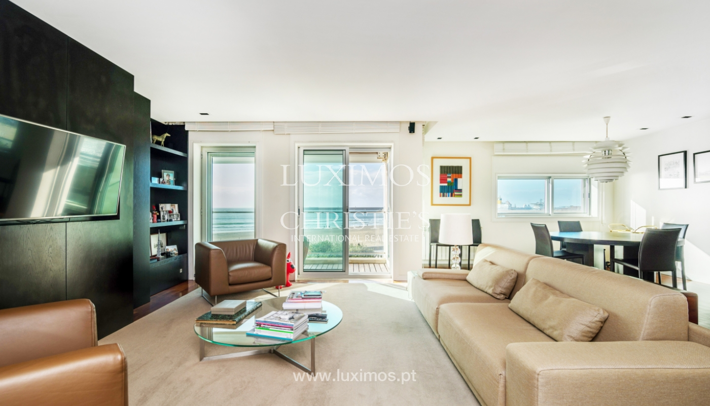 Venda de apartamento em primeira linha de mar, Matosinhos_125414