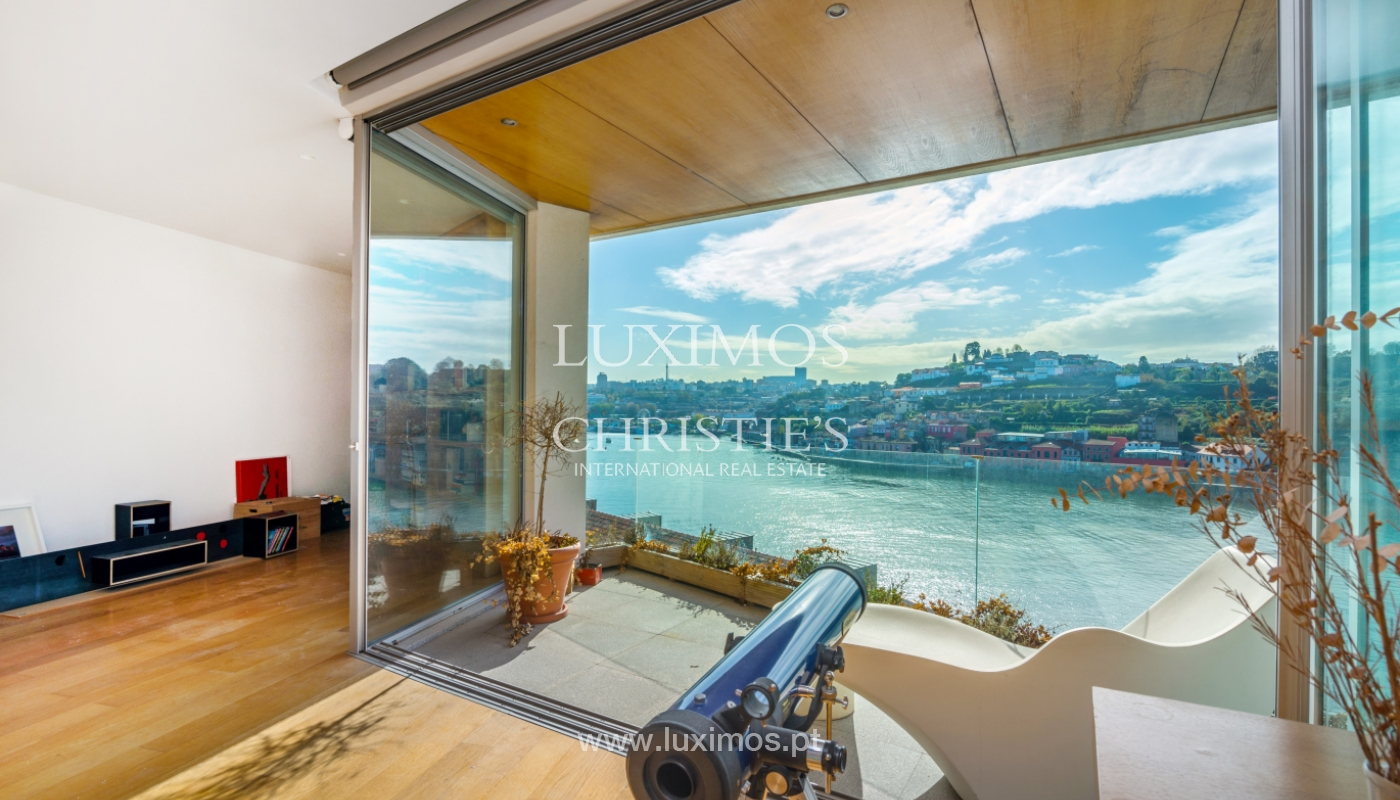 Venta villa de 3 plantas, con vistas al río, centro de Porto, Portugal_125443