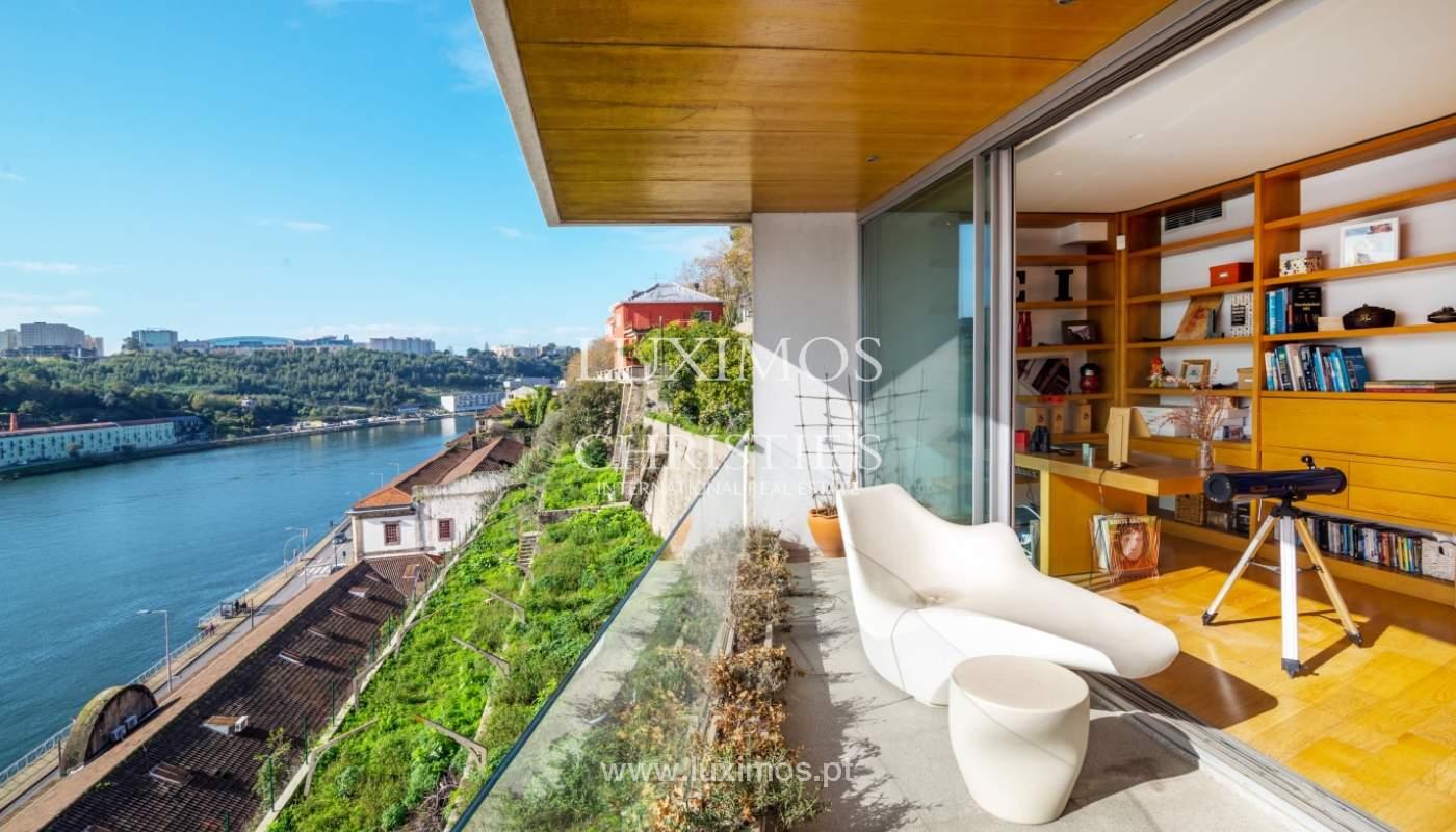 Venta villa de 3 plantas, con vistas al río, centro de Porto, Portugal_125444