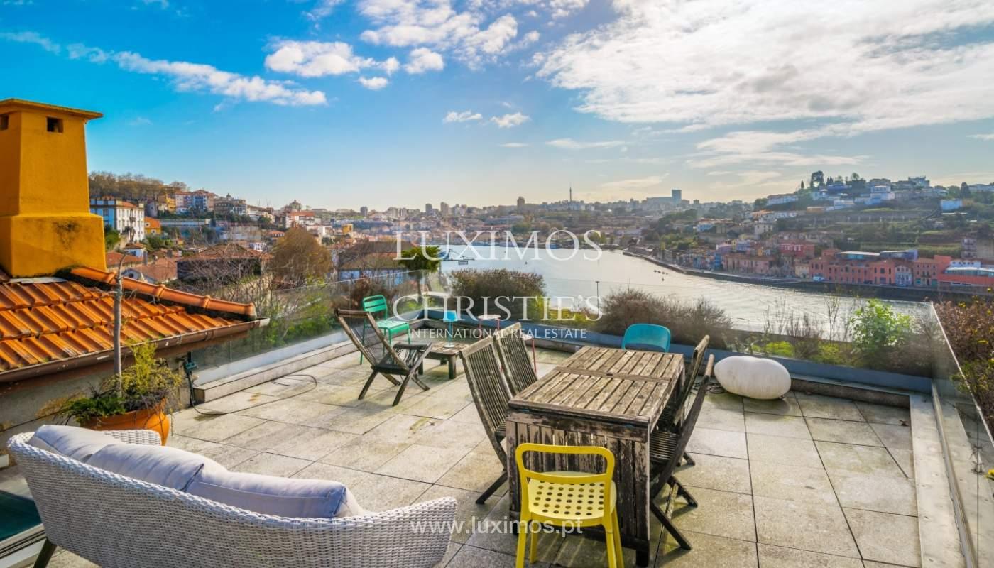 Venta villa de 3 plantas, con vistas al río, centro de Porto, Portugal_125458