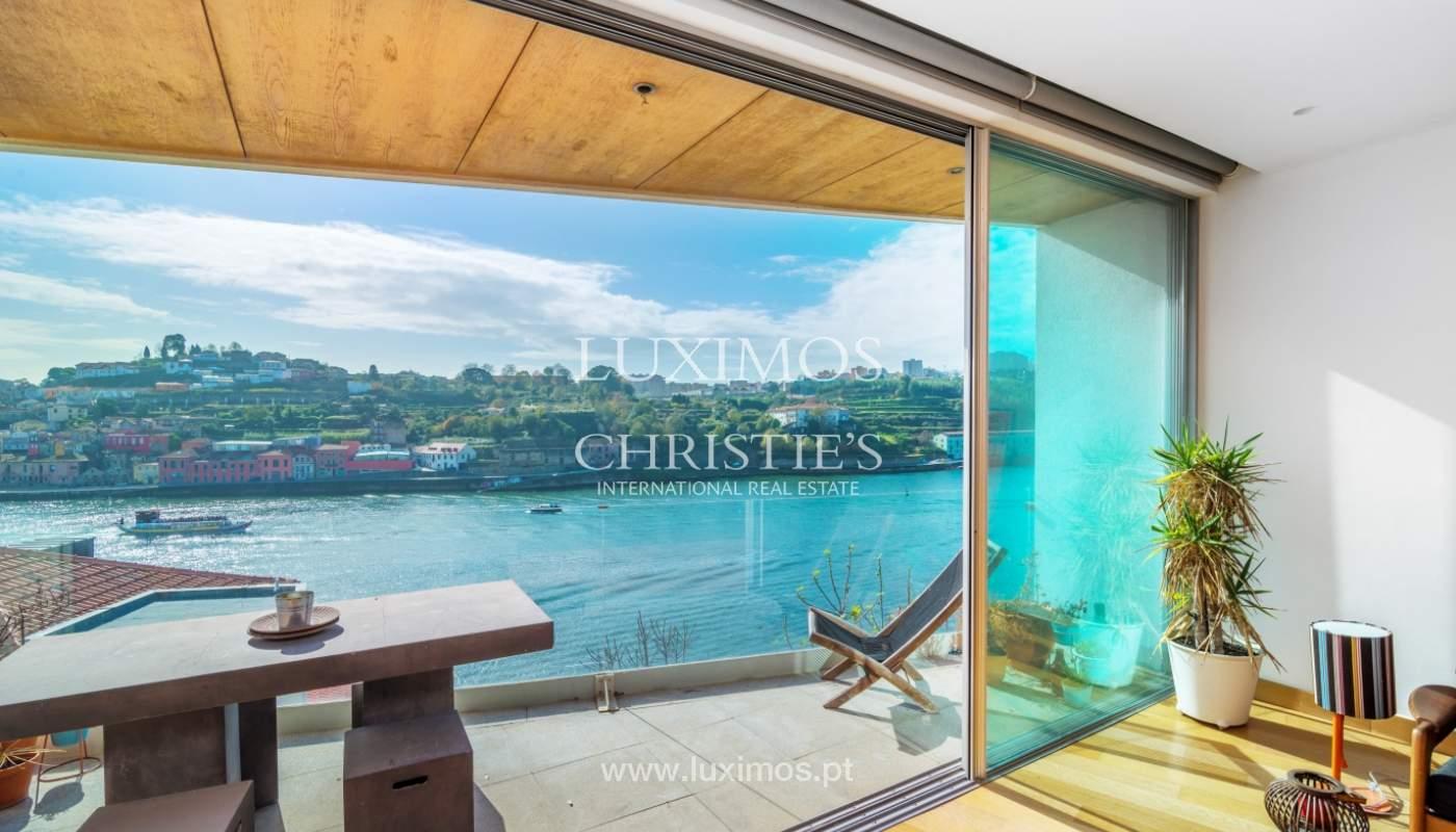 Venta villa de 3 plantas, con vistas al río, centro de Porto, Portugal_125463