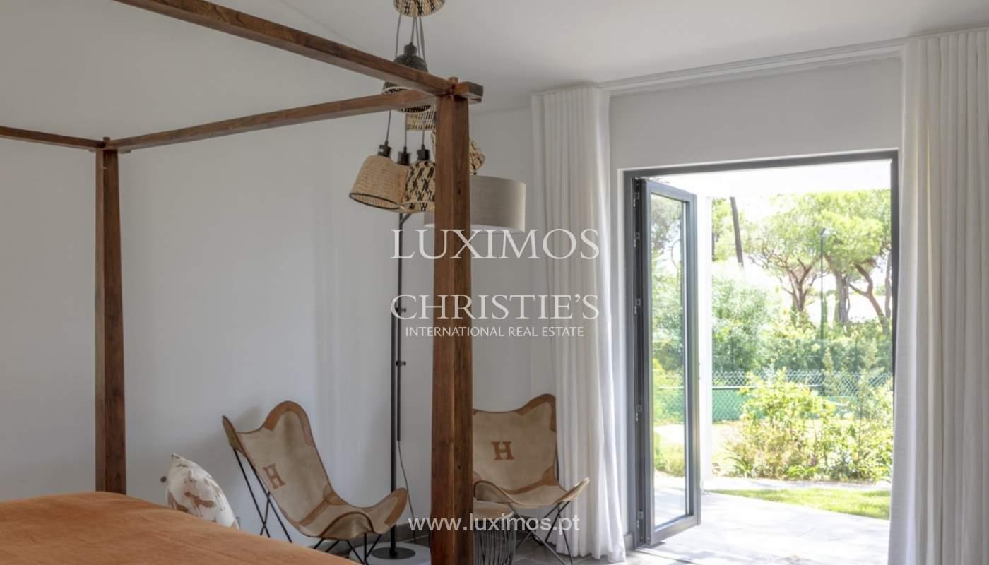 Sale of luxury villa front golf in Vilamoura, Algarve, Portugal_125724