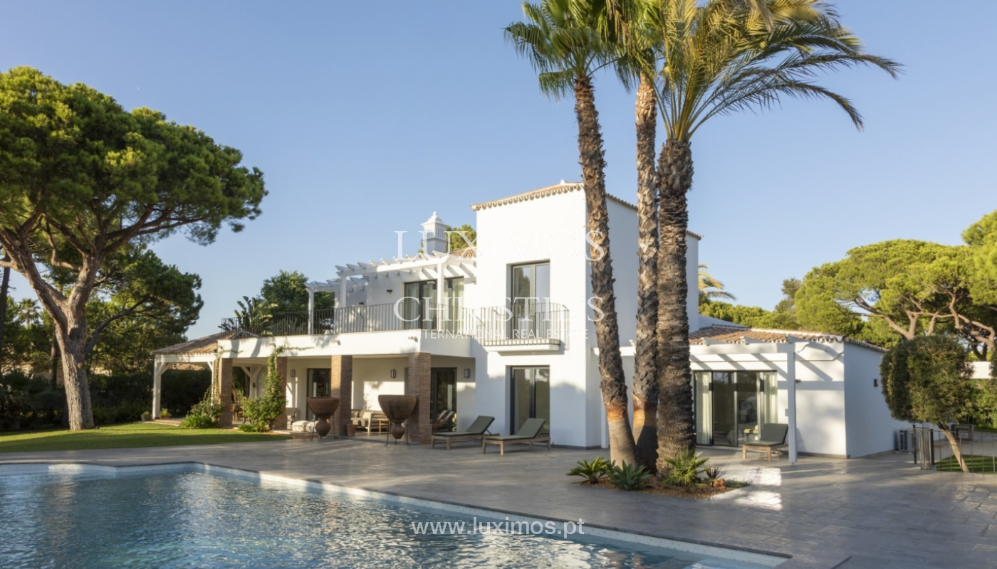 Sale of luxury villa front golf in Vilamoura, Algarve, Portugal_125725
