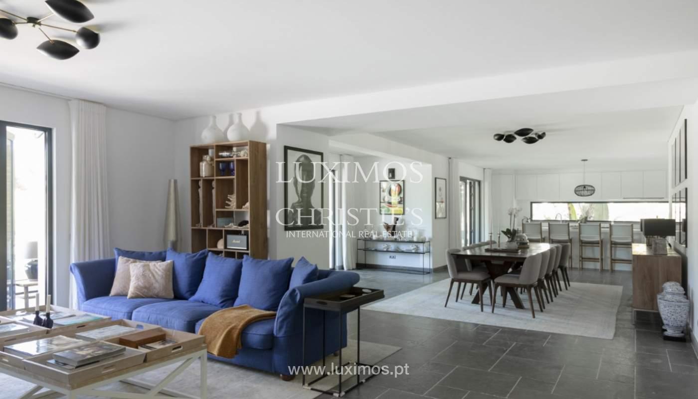 Sale of luxury villa front golf in Vilamoura, Algarve, Portugal_125727