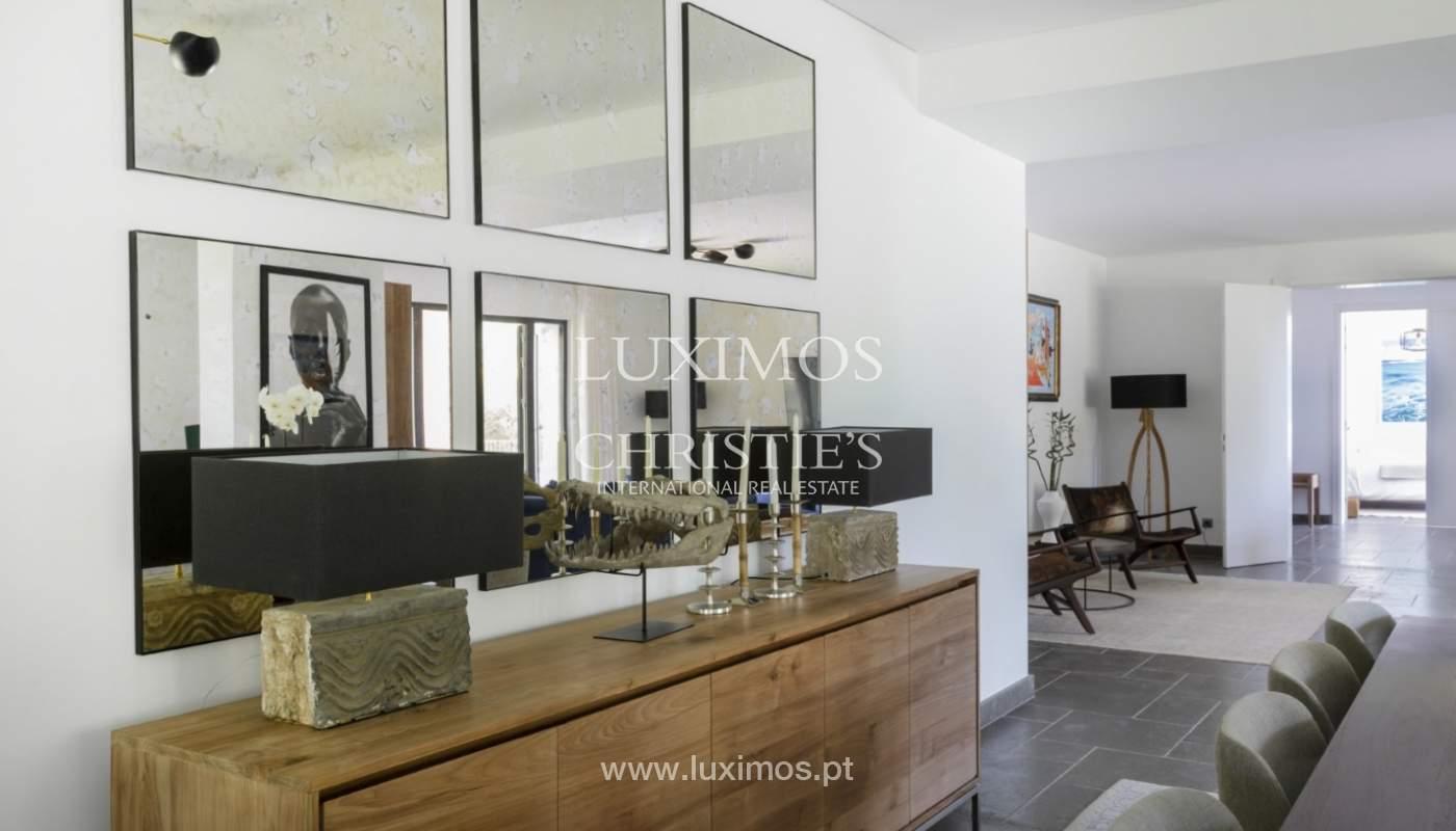 Sale of luxury villa front golf in Vilamoura, Algarve, Portugal_125732