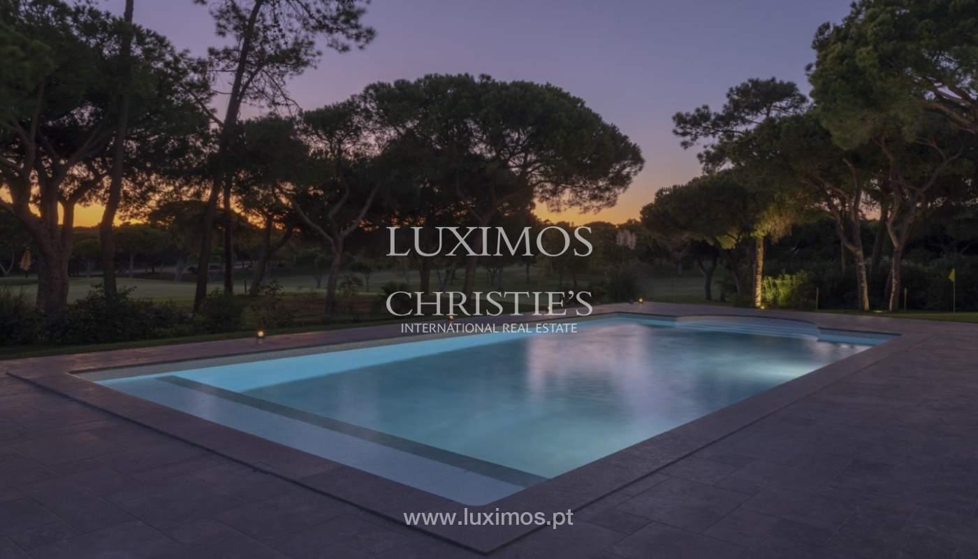 Sale of luxury villa front golf in Vilamoura, Algarve, Portugal_125733