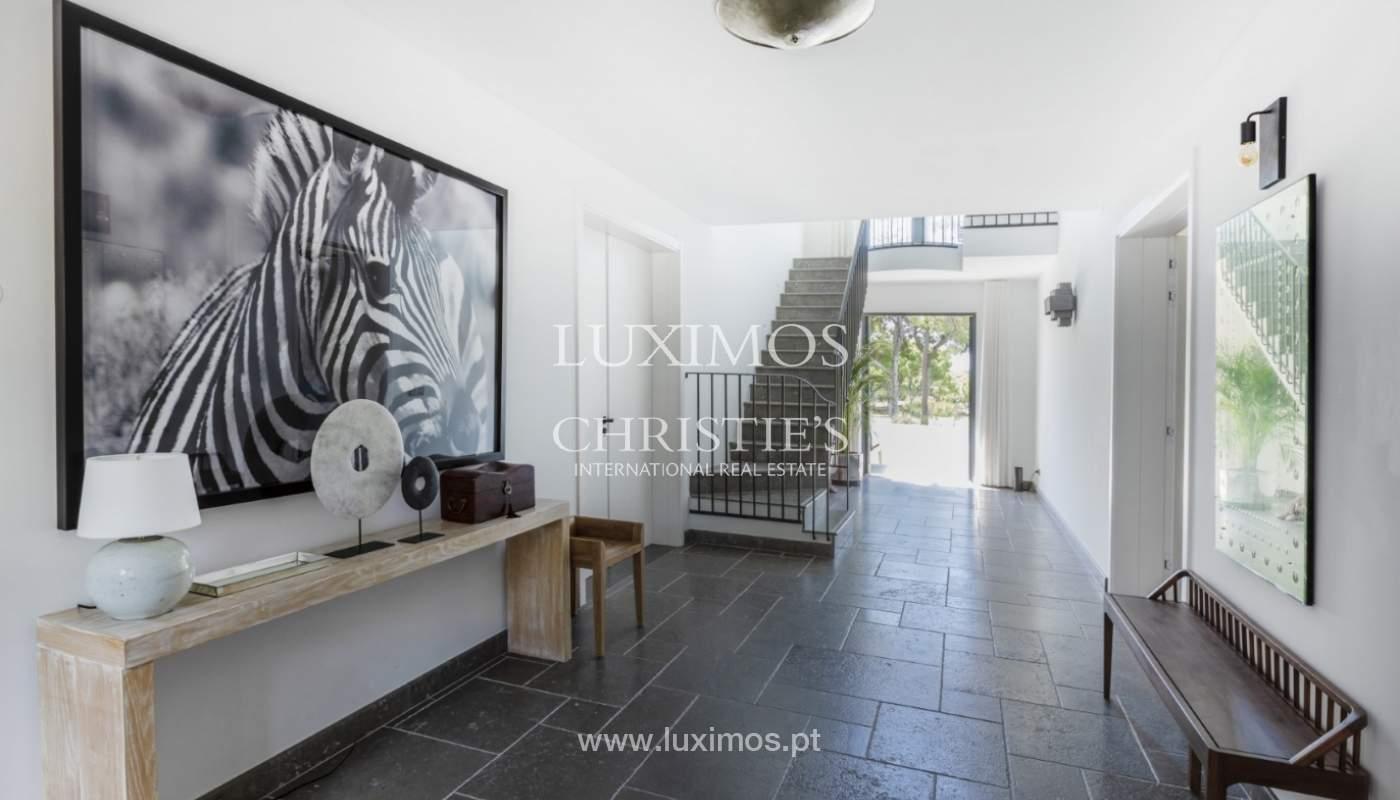 Sale of luxury villa front golf in Vilamoura, Algarve, Portugal_125734