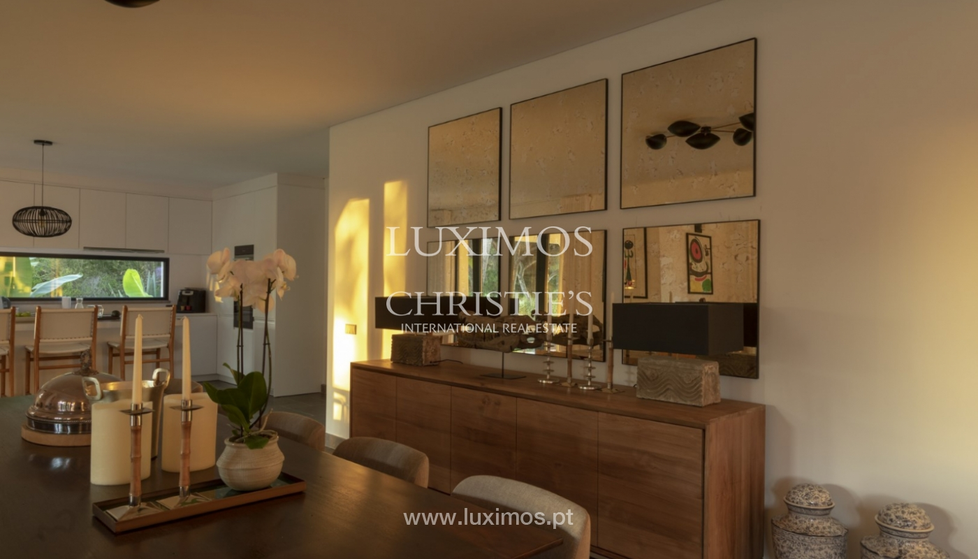 Sale of luxury villa front golf in Vilamoura, Algarve, Portugal_125735