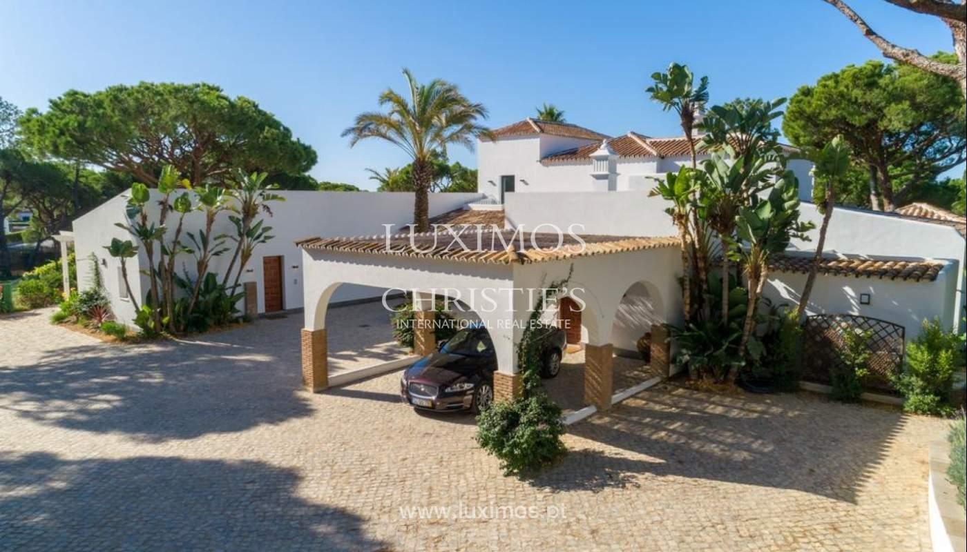 Sale of luxury villa front golf in Vilamoura, Algarve, Portugal_125737