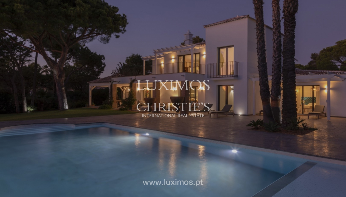 Sale of luxury villa front golf in Vilamoura, Algarve, Portugal_125738