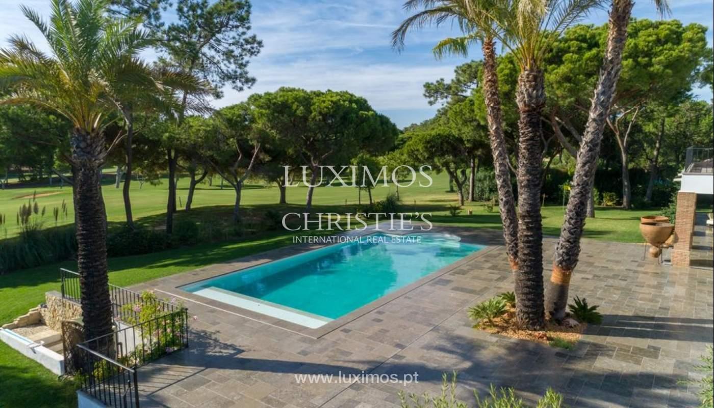Sale of luxury villa front golf in Vilamoura, Algarve, Portugal_125739