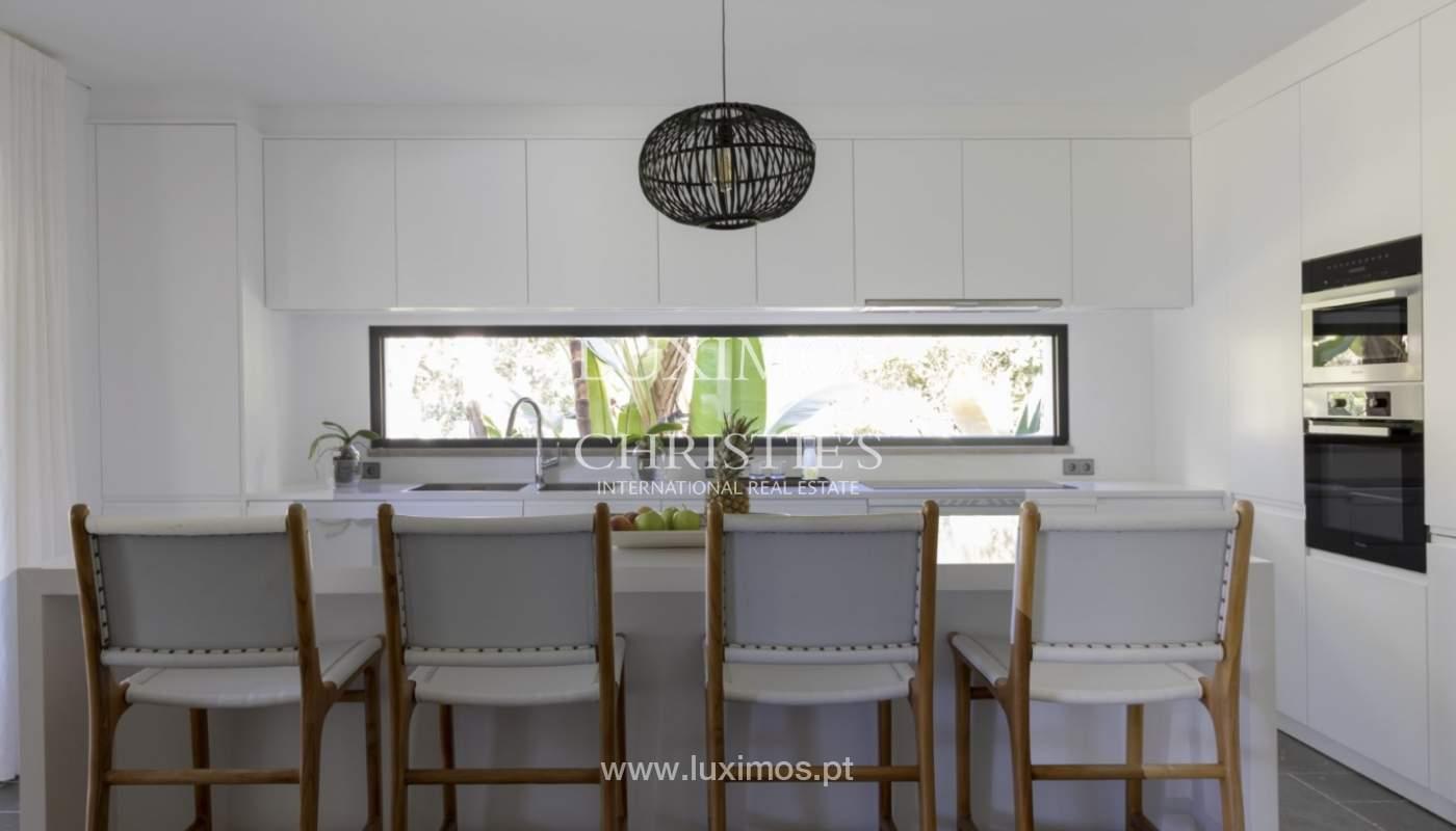 Sale of luxury villa front golf in Vilamoura, Algarve, Portugal_125741