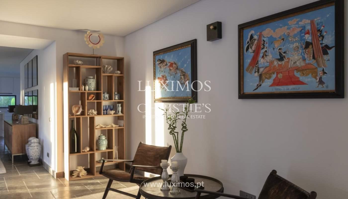 Sale of luxury villa front golf in Vilamoura, Algarve, Portugal_125744