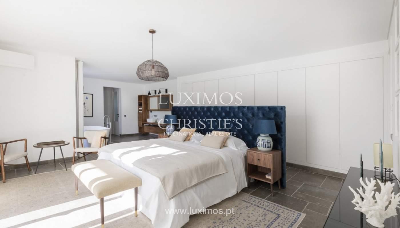 Sale of luxury villa front golf in Vilamoura, Algarve, Portugal_125747