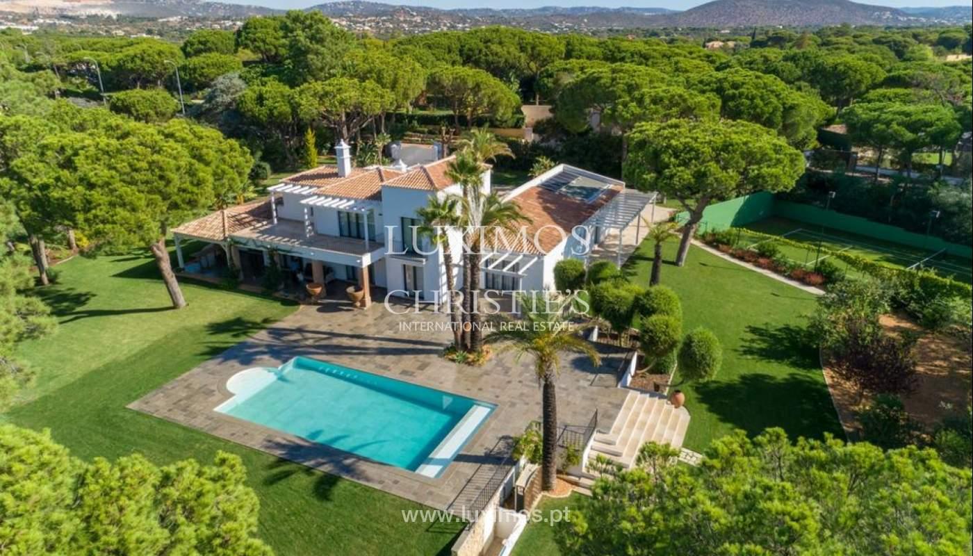 Sale of luxury villa front golf in Vilamoura, Algarve, Portugal_125748