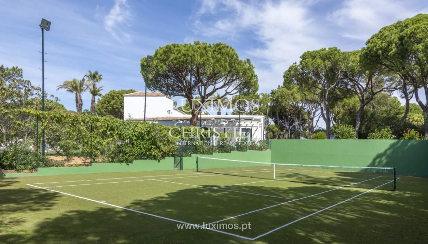 Sale of luxury villa front golf in Vilamoura, Algarve, Portugal_125752