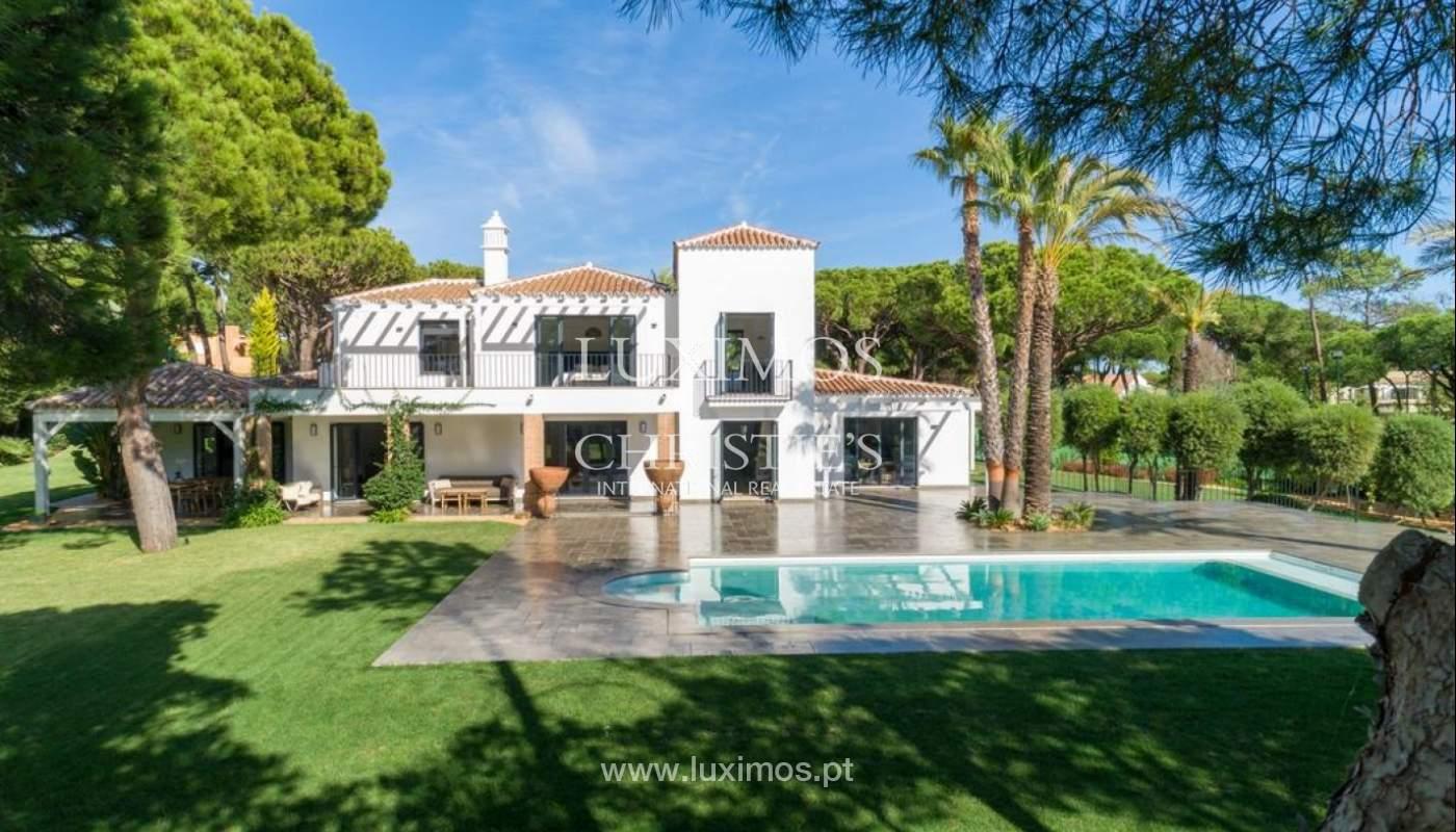 Sale of luxury villa front golf in Vilamoura, Algarve, Portugal_125754