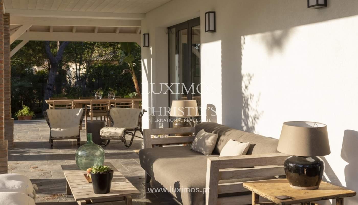 Sale of luxury villa front golf in Vilamoura, Algarve, Portugal_125755