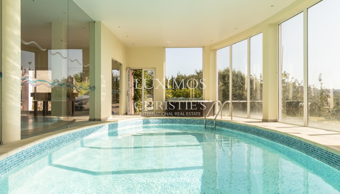 Verkauf von Villa mit Schwimmbad, See und Spielplatz, Vizela, Portugal_126284