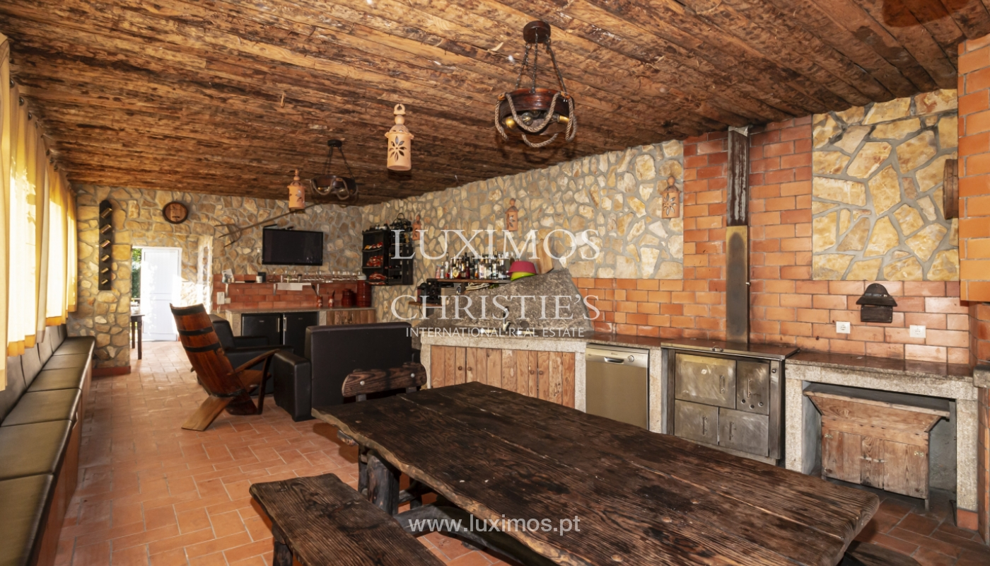 Sale of villa with swimming pool, lake and playground, Vizela, Portugal_126295