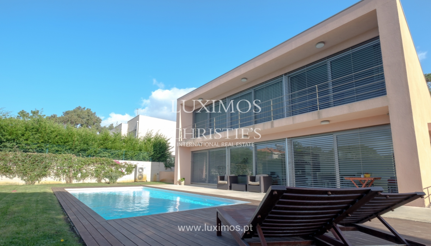 Luxury villa for sale with garden and pool, Lavra, Matosinhos, Portugal_126497