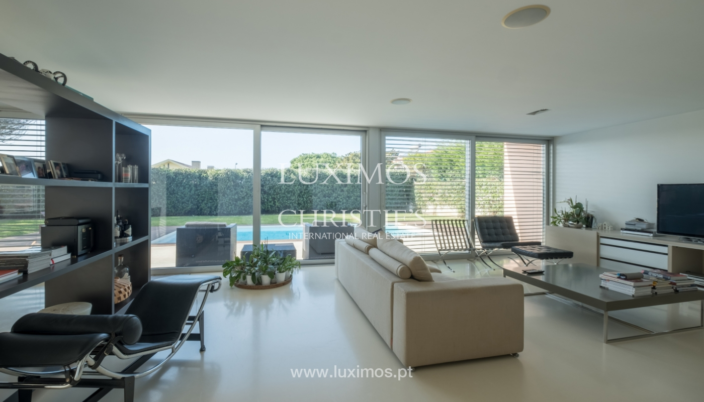 Luxury villa for sale with garden and pool, Lavra, Matosinhos, Portugal_126504