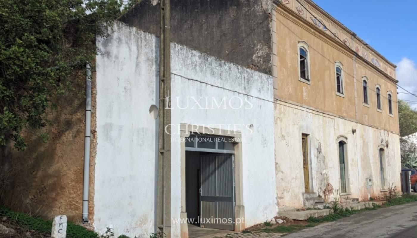 Verkauf von Grundstücken mit Ruine in Loulé, Algarve, Portugal_126676
