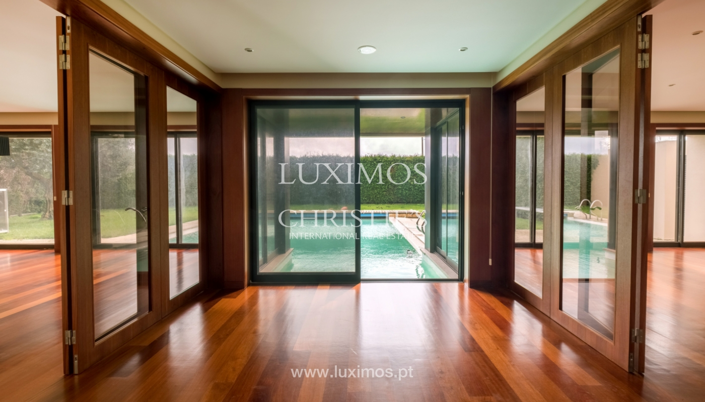 Luxury villa for sale with garden and pool, Maia, Porto, Portugal_126979