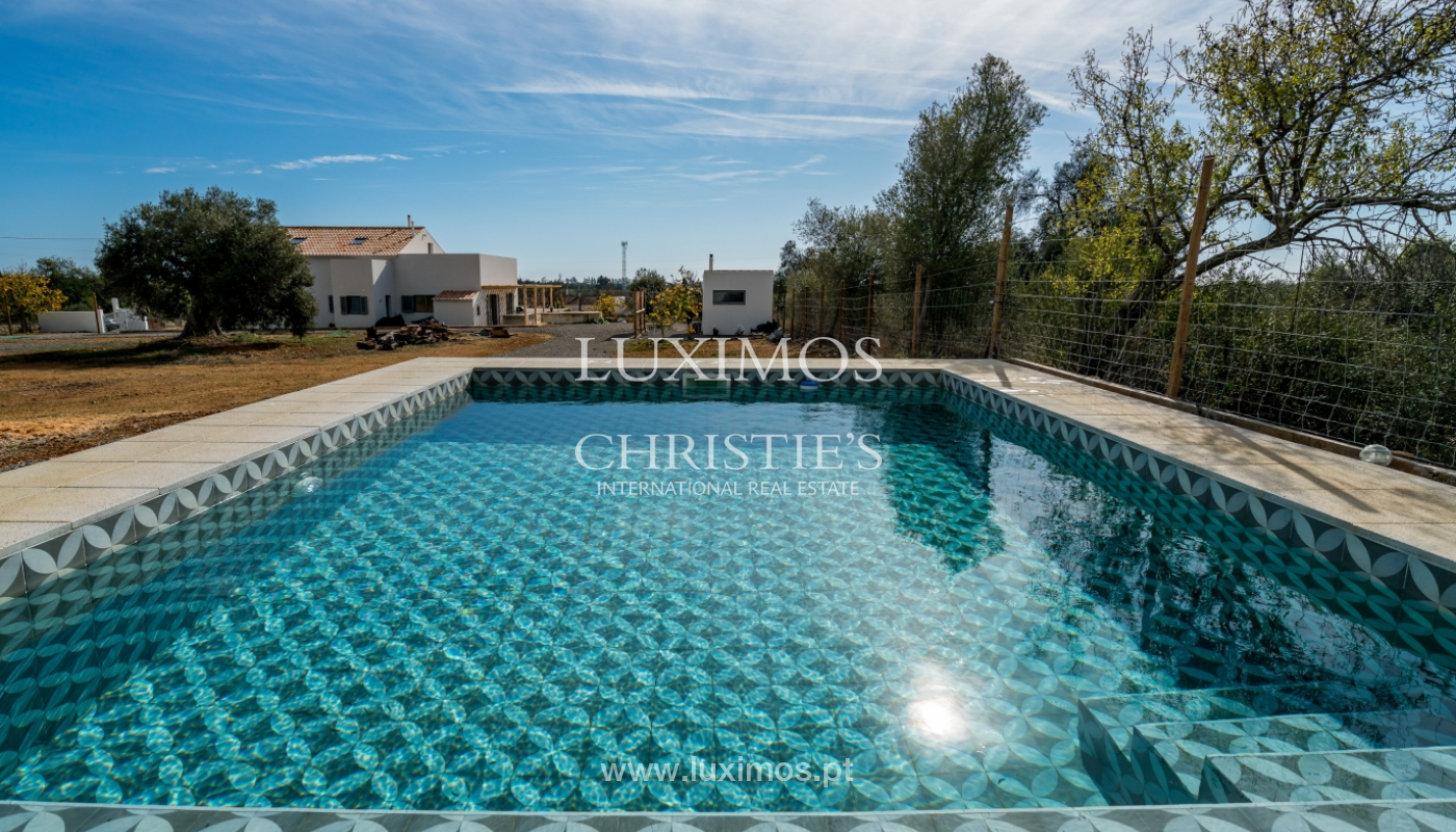Venda de moradia com piscina e vista serra, Tavira, Algarve, Portugal_126999