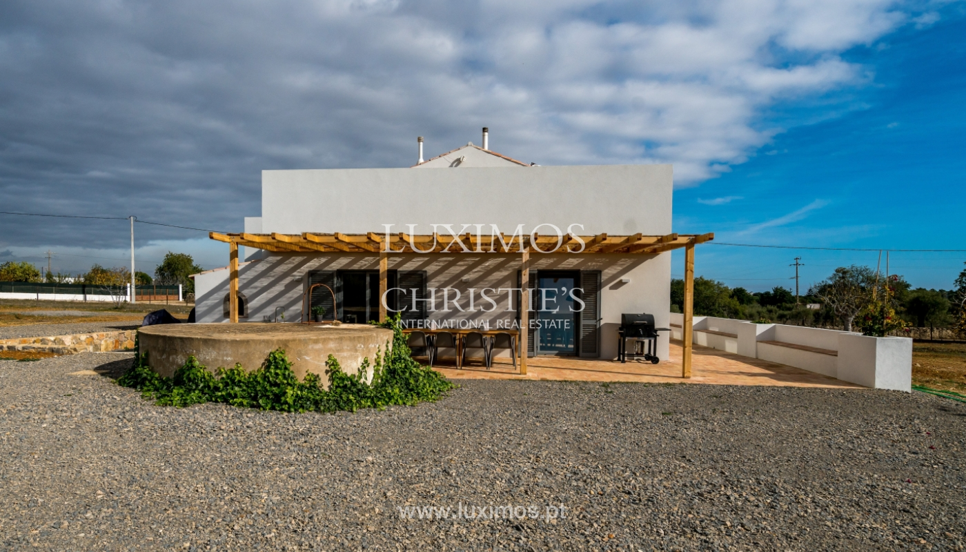 Venda de moradia com piscina e vista serra, Tavira, Algarve, Portugal_127003