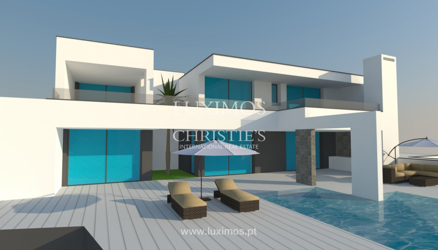 Sale of modern villa with pool near Albufeira, Algarve, Portugal_127101