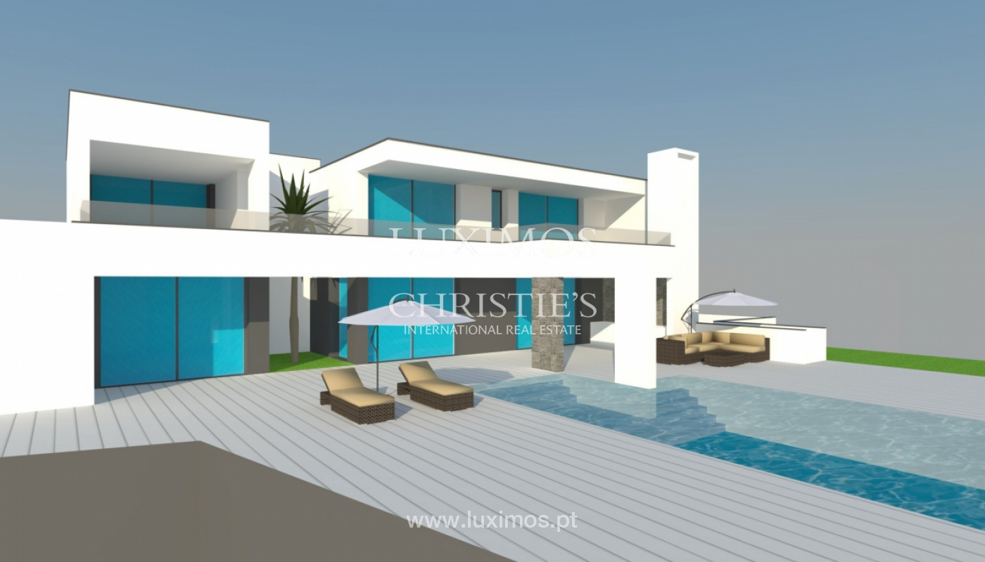 Sale of modern villa with pool near Albufeira, Algarve, Portugal_127104