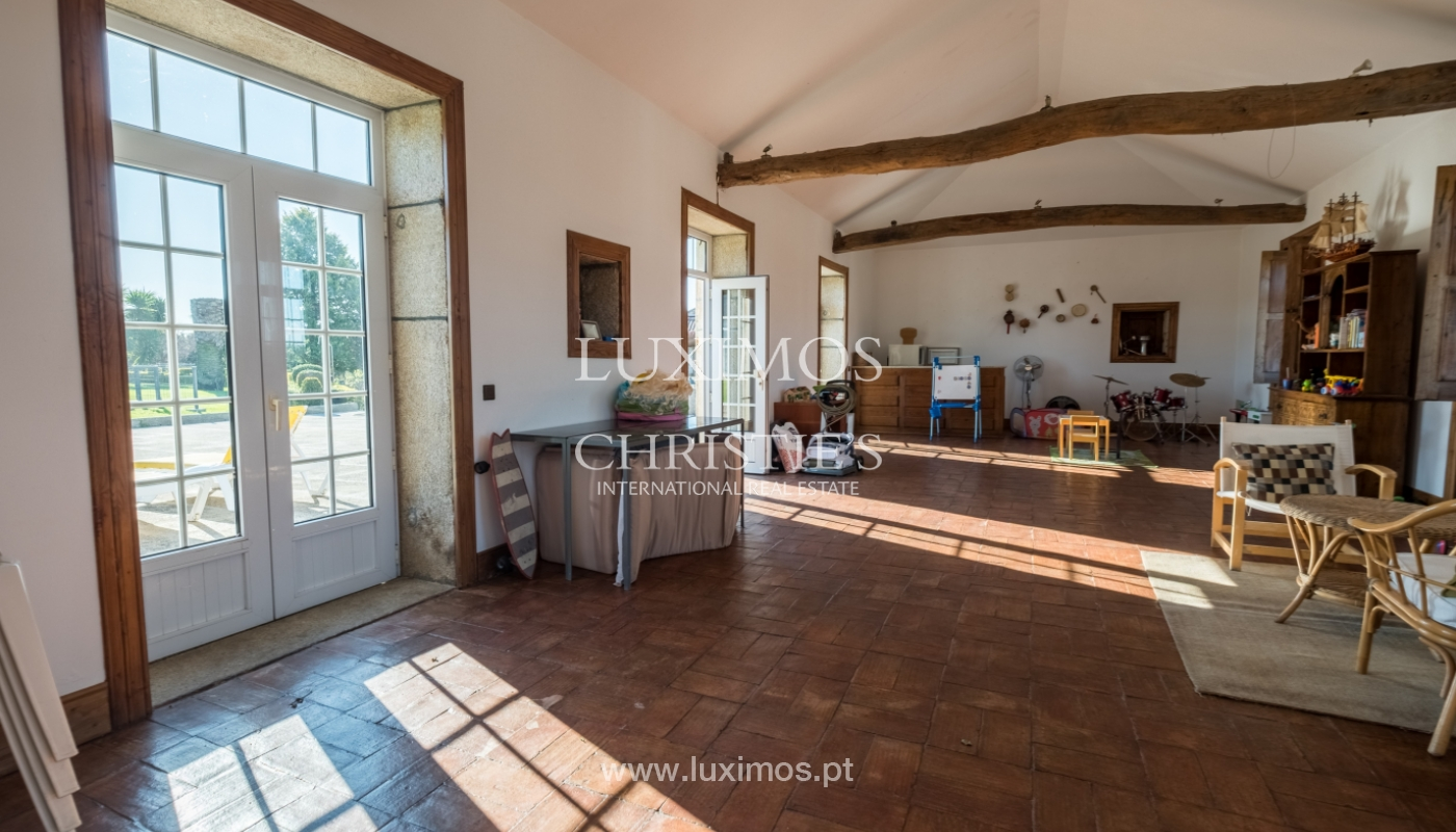 Small farm with 3 houses, pool and orchard, Vila do Conde, Portugal_127116